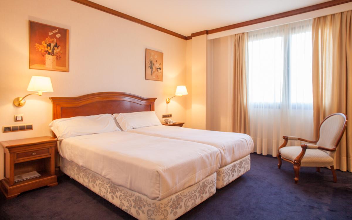 HABITACIONES DEL HOTEL VILLA DE ALMAZÁN