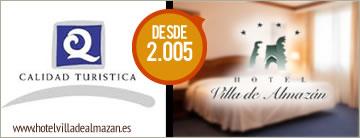 Hotel Villa de Almazán. Q de Calidad turística