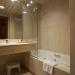 Baño y aseo de la suite