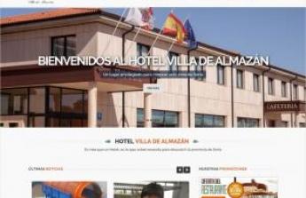 El Hotel Villa de Almazán inaugura su nueva página web